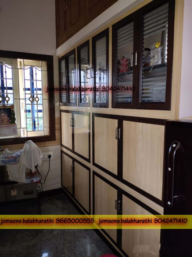 low cost pvc kitchen glass doors madurai