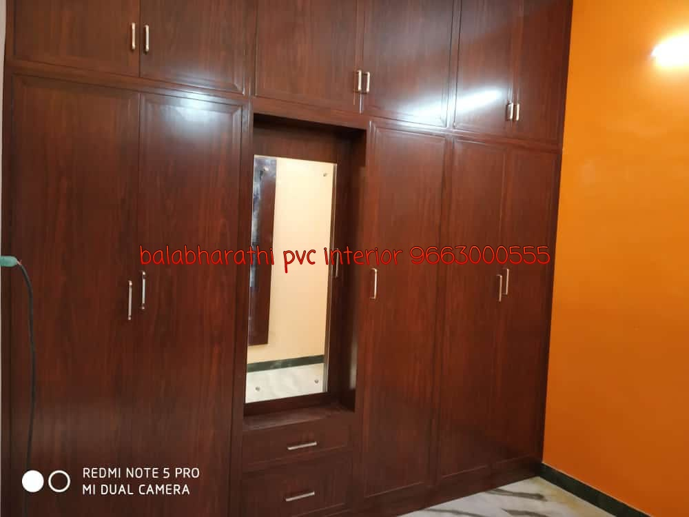 pvc bedroom cupboard design