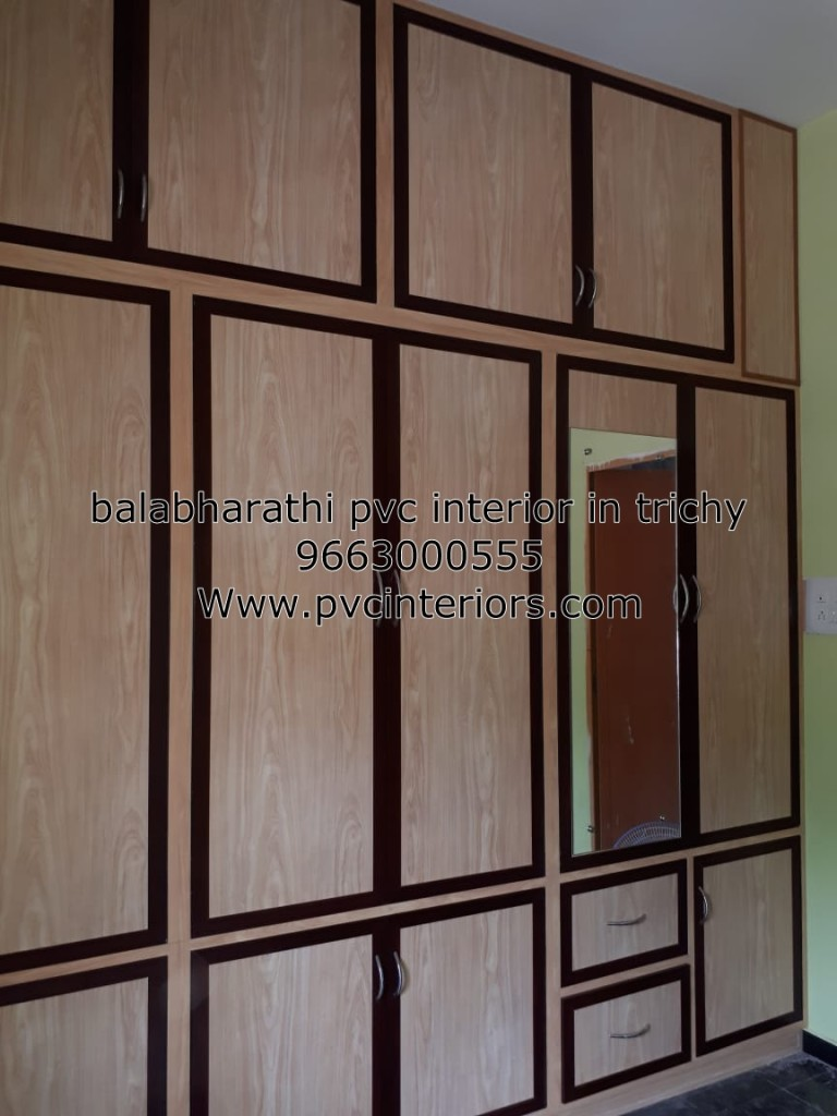 pvc bedroom wardrobe in trichy
