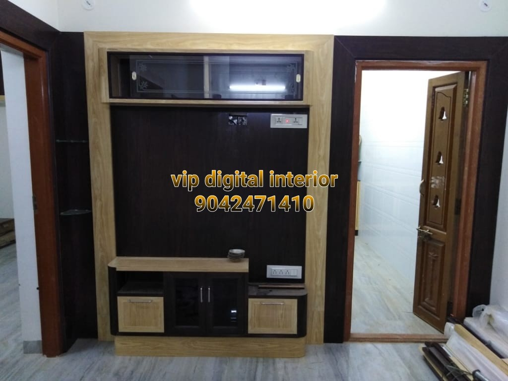 pvc led tv showcase in madurai