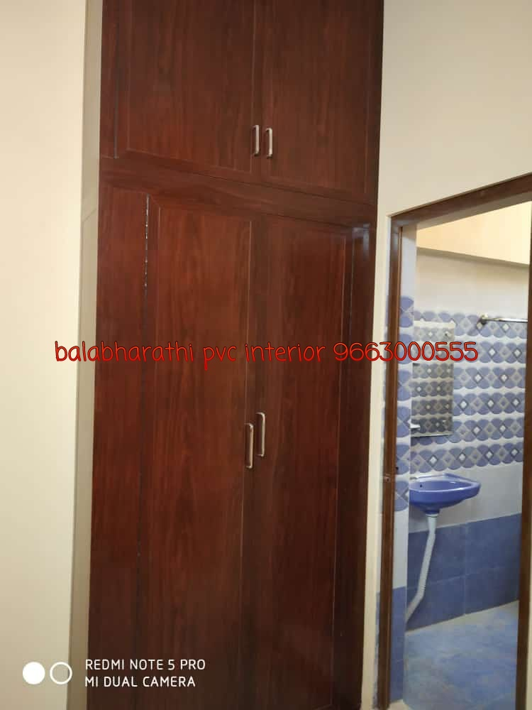 pvc wardrobe in cupboard design
