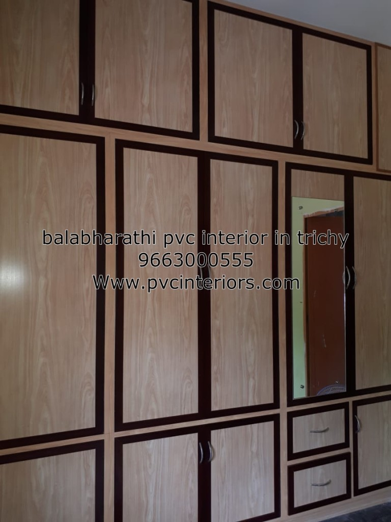 pvc wardrobe in trichy