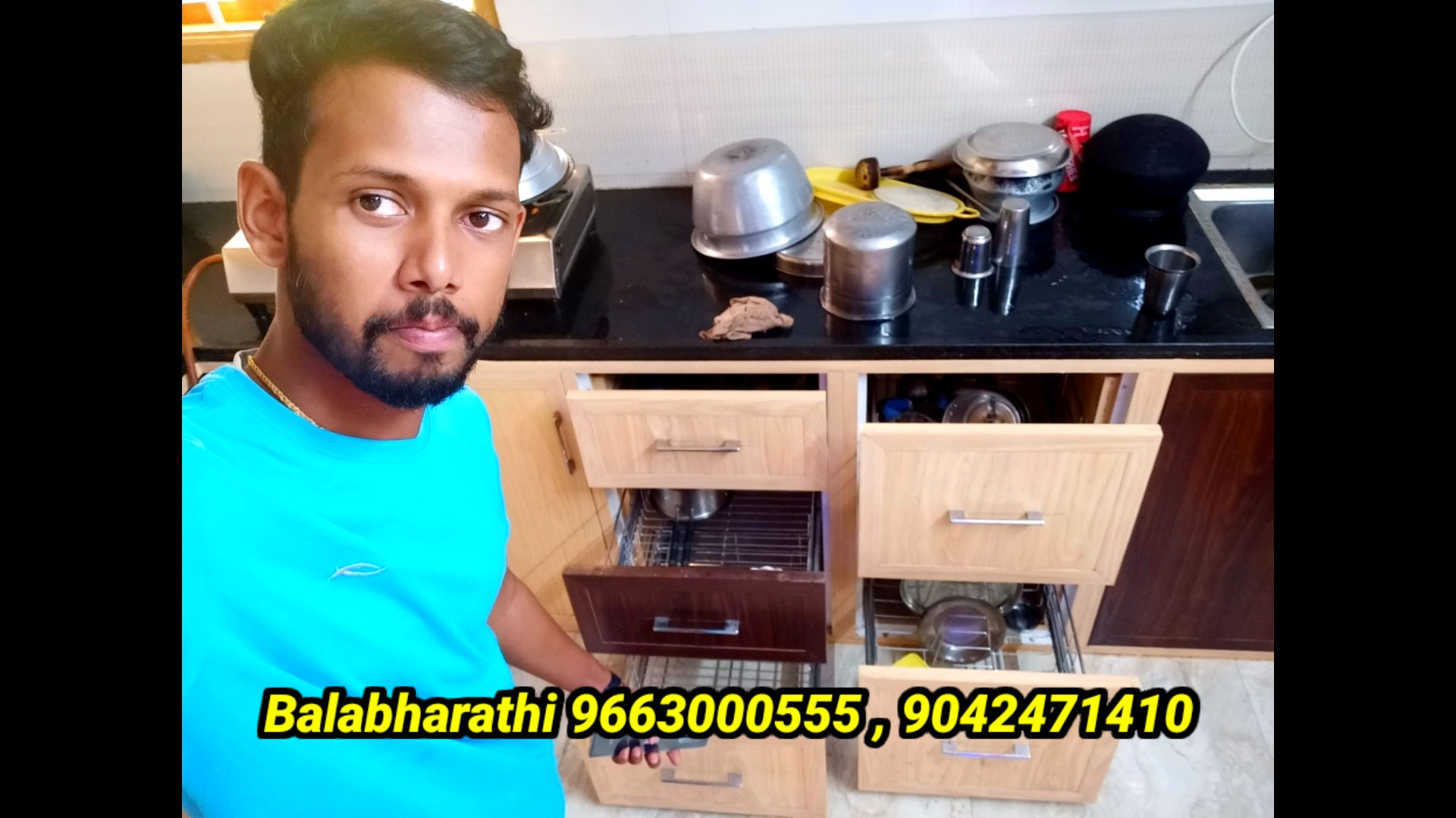 Low Cost Pvc modular Kitchen