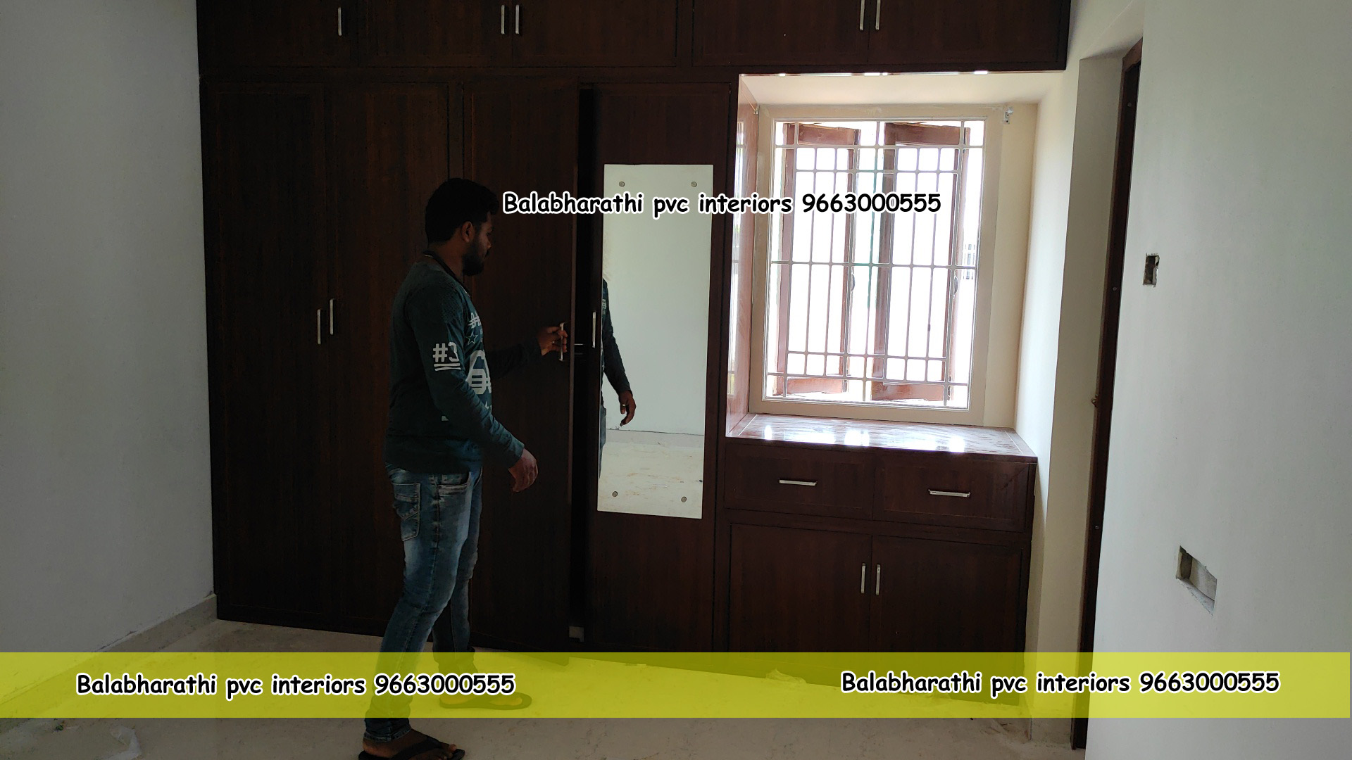 pvc cupboard work namakkal
